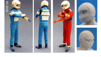 Driver Figure Mansell, Pironi - GF Models
