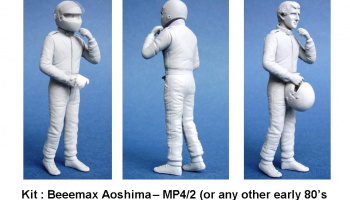 Driver Figure Prost MP4/2 1/20 - GF Models