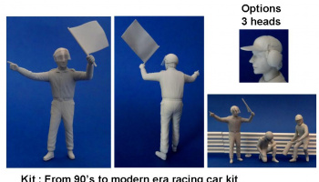 Marshall Yellow Flag Figure 1/20 - GF Models
