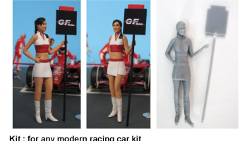 Figure Grid Girl 1:24 - GF Models