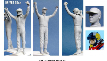 Driver Figure WRC PoloR 1:24 - GF Models