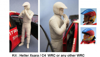 Co-driver Figure WRC 1/24 - GF Models