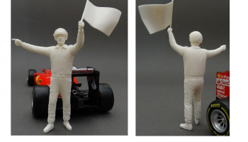 Figure Marshall Yellow Flag 1:24 - GF Models