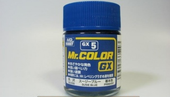 Mr. Color GX 05 - Blue Gloss - Modrá lesklá - Gunze