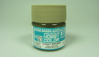 Hobby Color H 321 - Light Brown - Světle hnědá - Gunze