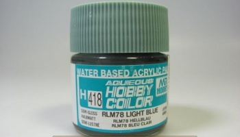 Hobby Color H 418 - RLM78 Light Blue - Světle modrá - Gunze