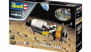 "Gift-Set 03700 - Apollo 11 ""Columbia"" & ""Eagle"" (50 Years Moon Landing) (1:96)"
