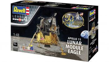 "Apollo 11 Lunar Module ""Eagle"" (50 Years Moon Landing) (1:48) Gift-Set 03701 - Revell"
