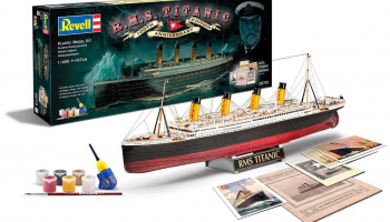 Gift-Set 05715 - R.M.S. Titanic - 100th anniversary edition (1:400)