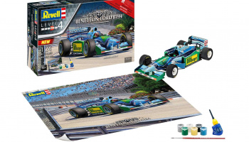 """Benetton Ford"" (1:24) Gift-Set 05689 - 25th Anniversary - Revell"