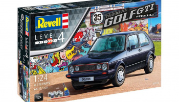 VW Golf 1 GTi Pirelli 35 Years (1:24) Gift-Set 05694 - Revell