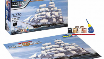 Gift-Set 05430 - Cutty Sark 150th Anniversary (1:220) - Revell