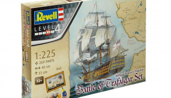 "Gift-Set loď 05767 - ""Battle of Trafalgar"" (1:225) - Revell"