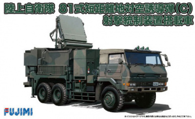 Ground Self-Defense Force Type 81 Vehicle with fire control device1:72 - Fujimi