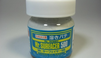 Mr.Surfacer 500 - Stříkací tmel 40ml - Gunze