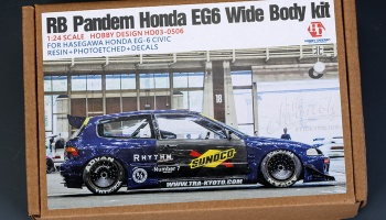 RB Pandem Honda EG6 Wide Body Kit For Hasegawa Honda EG-6 Civic - Hobby Design