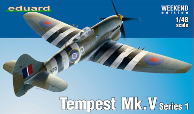Hawker Tempest Mk.V Series 1 Weekend edition 1/48 - Eduard