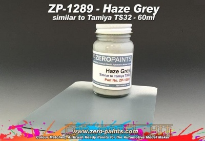 Haze Grey (Similar to Tamiya TS32) - Zero Paints