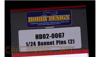Bonnet Pins(2) - Hobby Design