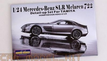Mercedes-Benz SLR Mclaren 722 Detail-up Set For Tamiya - Hobby Design