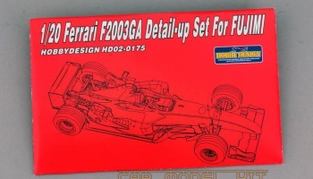 Ferrari F2003-GA Detail-up Set for Fujimi - Hobby Design