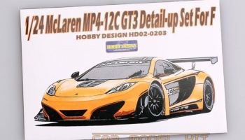 Mclaren MP4-12C GT3 Detail-up Set For Fujimi - Hobby Design
