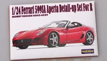 Ferrari 599SA Aperta Detail-up Set For R - Hobby Design
