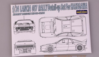 Lancia 037 Rally Detail-up Set For Hasegawa - Hobby Design