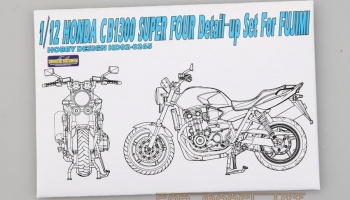 Honda CB1300 Super Four Detail-up Set For Fujimi - Hobby Design