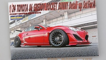 Toyota 86' Greddy&Rocket Bunny Detail-up Set For A - Hobby Design