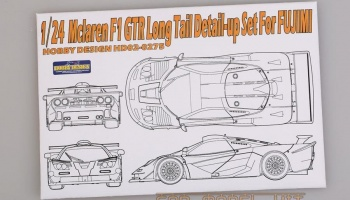 Mclaren F1 GTR Long Tail Detail-up Set For F - Hobby Design