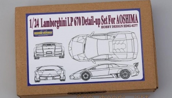 Lamborghini LP670 Detail-up Set For A - Hobby Design