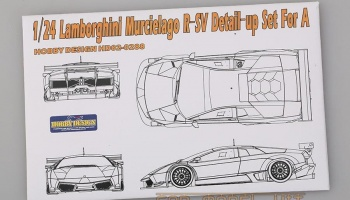 Lamborghini Murcielago R-SV Detail-up Set For A - Hobby Design