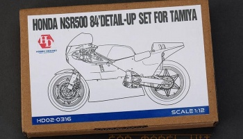 Honda NSR500 '84 Detail-UP Set For T - Hobby Design