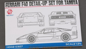 Ferrari F40 Detail-UP Set For T - Hobby Design