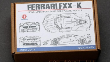 Ferrari FXX-K Detail-UP Set For T 24343 - Hobby Design