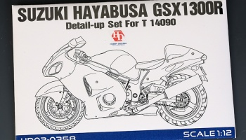 Suzuki Hayabusa GSX 1300R Detail Up Set - Hobby Design