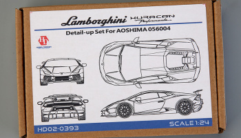 Lamborghini Huracan Detail Up set for Aoshima 56004 - Hobby Design