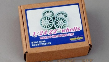 WALD PORTOFIND 22' Wheels - Hobby Design