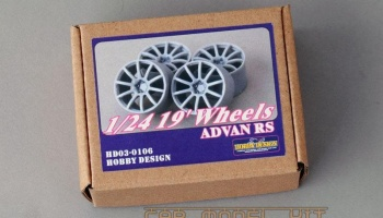 19' Wheels ADVAN RS-D - Hobby Design