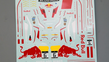 Audi R8 Red Bull Decal For NuNu (PN24004) 1/24 - Hobby Design