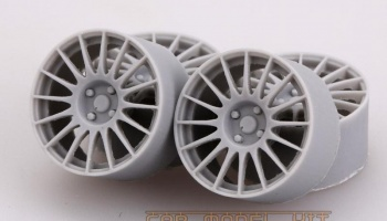 17' Rally Wheels For Fiat 500 Abarth - Hobby Design