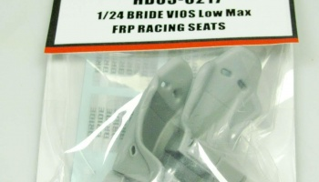 Bride Vios Low Max FRP Racing Seats - Hobby Design