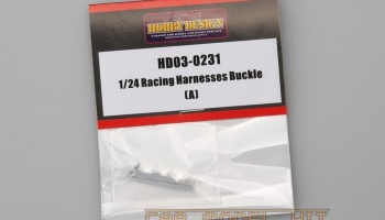 Racing Harnesses Buckle (A) - Hobby Design