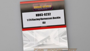 Racing Harnesses Buckle (B) - Hobby Design