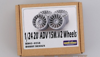 20'ADV 15M.V2 Wheels - Hobby Design