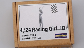 Racing Girl (B) - Hobby Design