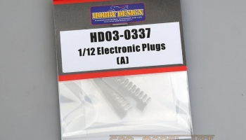 Electronic Plugs (A) 1/12 - Hobby Design