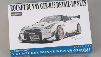 Rocket Bunny Nissan GTR- R35 Detail-up Sets - Hobby Design