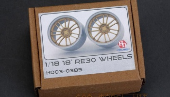 18' RAYS RE30 Wheels 1/18 - Hobby Design